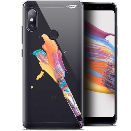 """Coque Gel Xiaomi Redmi Note 5 (5.99"""") Extra Fine Motif - Pinceau de Peinture"""