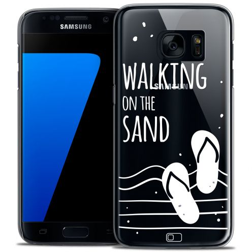Coque Crystal Galaxy S7 Extra Fine Summer - Walking on the Sand