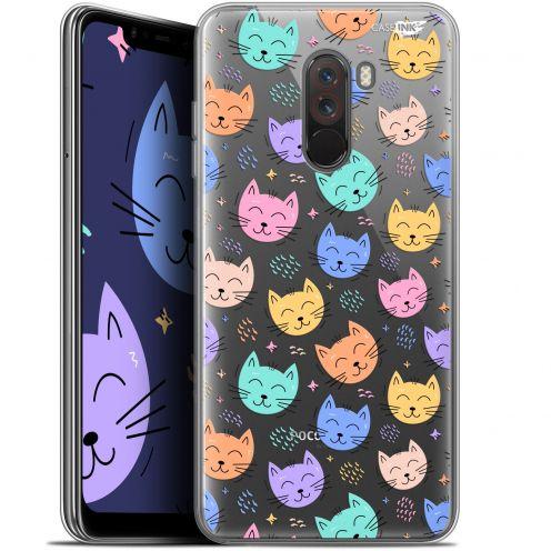 """Coque Gel Xiaomi Pocophone F1 (6.18"""") Extra Fine Motif - Chat Dormant"""