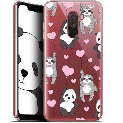 "Coque Gel Xiaomi Pocophone F1 (6.18"") Extra Fine Motif - Panda'mour"
