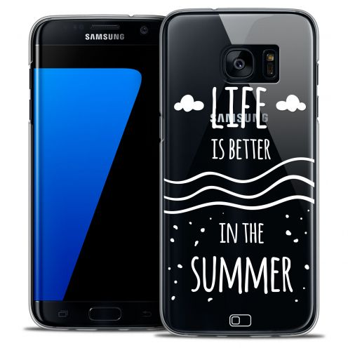 Coque Crystal Galaxy S7 Edge Extra Fine Summer - Life's Better