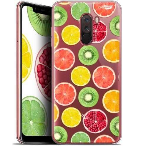 "Coque Gel Xiaomi Pocophone F1 (6.18"") Extra Fine Motif - Fruity Fresh"