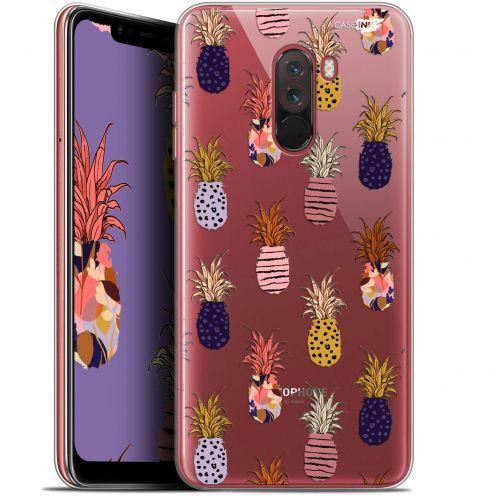 """Coque Gel Xiaomi Pocophone F1 (6.18"""") Extra Fine Motif - Ananas Gold"""