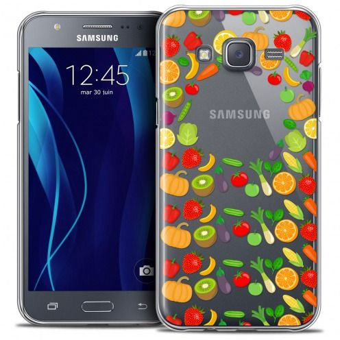 Coque Crystal Galaxy J5 (J500) Extra Fine Foodie - Healthy