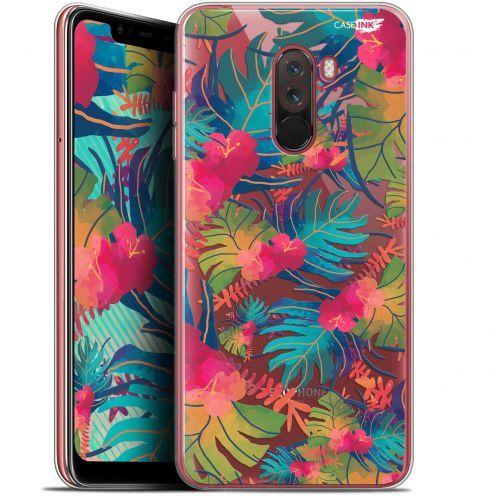"""Coque Gel Xiaomi Pocophone F1 (6.18"""") Extra Fine Motif - Couleurs des Tropiques"""