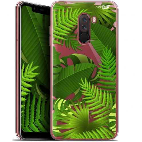 """Coque Gel Xiaomi Pocophone F1 (6.18"""") Extra Fine Motif - Plantes des Tropiques"""