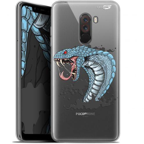 "Coque Gel Xiaomi Pocophone F1 (6.18"") Extra Fine Motif - Cobra Draw"