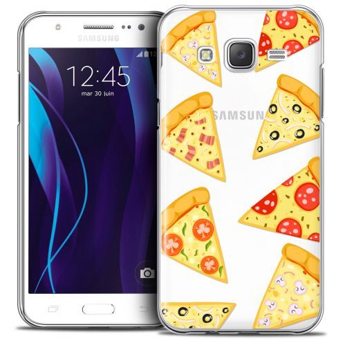 Coque Crystal Galaxy J7 (J700) Extra Fine Foodie - Pizza
