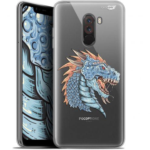 "Coque Gel Xiaomi Pocophone F1 (6.18"") Extra Fine Motif - Dragon Draw"