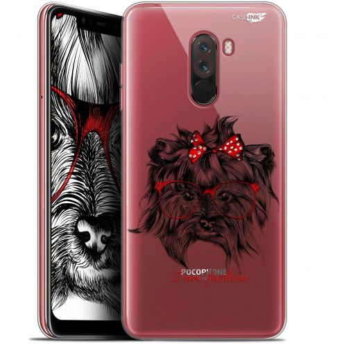 "Coque Gel Xiaomi Pocophone F1 (6.18"") Extra Fine Motif -  Fashion Dog"