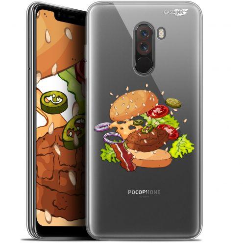 "Coque Gel Xiaomi Pocophone F1 (6.18"") Extra Fine Motif - Splash Burger"