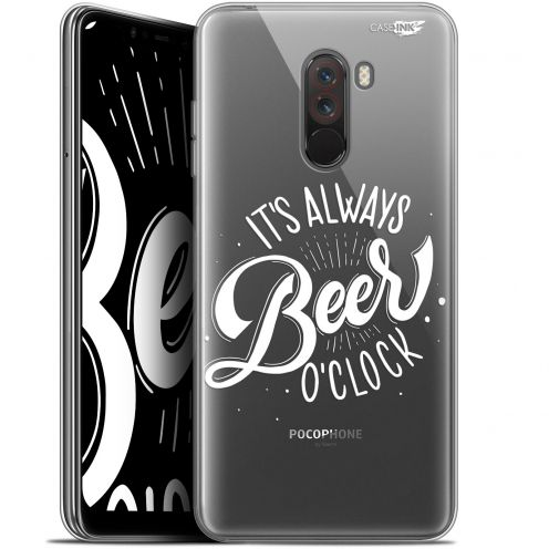 "Coque Gel Xiaomi Pocophone F1 (6.18"") Extra Fine Motif -  Its Beer O'Clock"