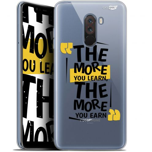 "Coque Gel Xiaomi Pocophone F1 (6.18"") Extra Fine Motif -  The More You Learn"