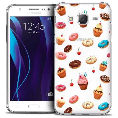 Coque Crystal Galaxy J5 (J500) Extra Fine Foodie - Donuts