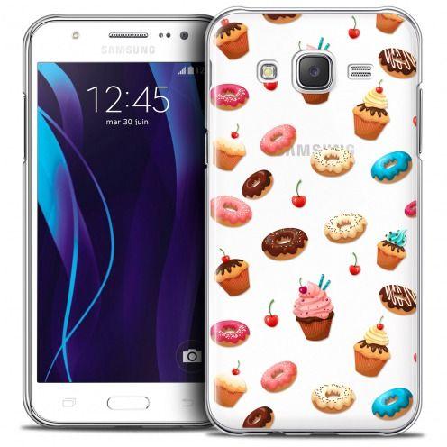 Coque Crystal Galaxy J7 (J700) Extra Fine Foodie - Donuts