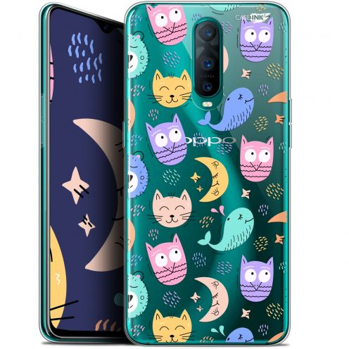 """Coque Gel Oppo RX17 Pro (6.4"""") Extra Fine Motif - Chat Hibou"""