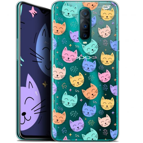 "Coque Gel Oppo RX17 Pro (6.4"") Extra Fine Motif -  Chat Dormant"