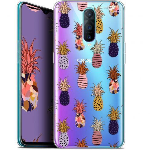 """Coque Gel Oppo RX17 Pro (6.4"""") Extra Fine Motif -  Ananas Gold"""