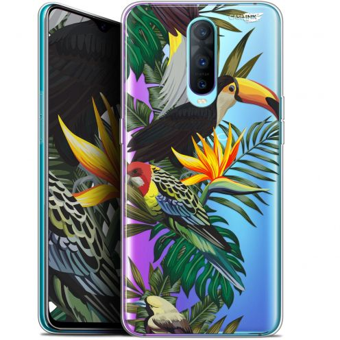 "Coque Gel Oppo RX17 Pro (6.4"") Extra Fine Motif -  Toucan Tropical"