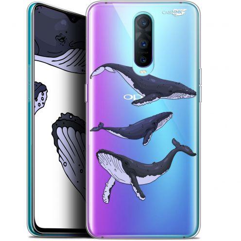 "Coque Gel Oppo RX17 Pro (6.4"") Extra Fine Motif -  Les 3 Baleines"