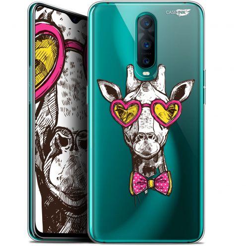 "Coque Gel Oppo RX17 Pro (6.4"") Extra Fine Motif -  Hipster Giraffe"