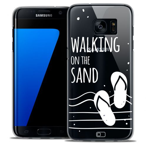 Coque Crystal Galaxy S7 Edge Extra Fine Summer - Walking on the Sand