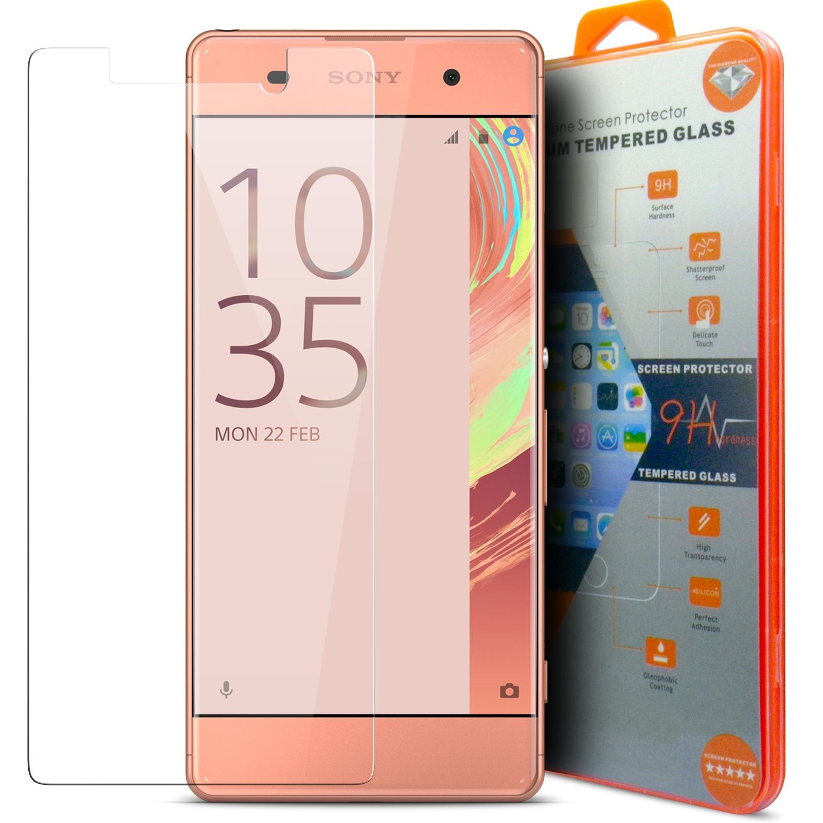 9H Duret/é Film Protection Anti Rayures 1 Pi/èces Verre Tremp/é pour Sony Xperia XA2 LAFCH Transparent HD Protection D/écran Compatible avec Xperia XA2