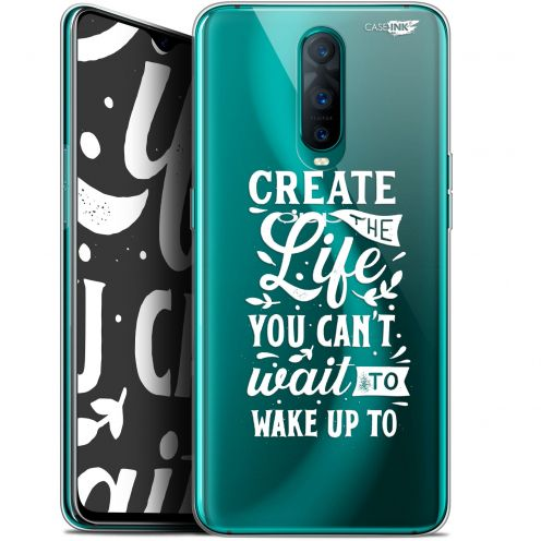 "Coque Gel Oppo RX17 Pro (6.4"") Extra Fine Motif -  Wake Up Your Life"