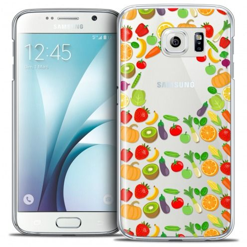 Coque Crystal Galaxy S6 Extra Fine Foodie - Healthy