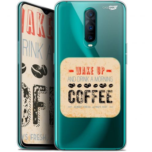 "Coque Gel Oppo RX17 Pro (6.4"") Extra Fine Motif -  Wake Up With Coffee"