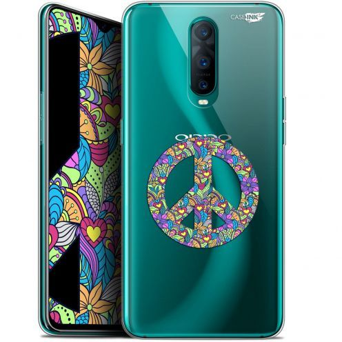 "Coque Gel Oppo RX17 Pro (6.4"") Extra Fine Motif - Peace And Love"