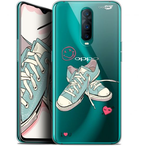 """Coque Gel Oppo RX17 Pro (6.4"""") Extra Fine Motif -  Mes Sneakers d'Amour"""