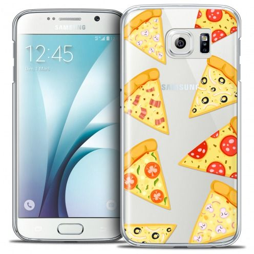 Coque Crystal Galaxy S6 Extra Fine Foodie - Pizza