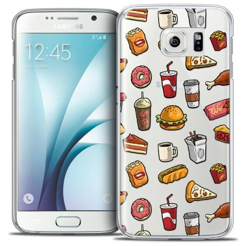 Coque Crystal Galaxy S6 Extra Fine Foodie - Fast Food