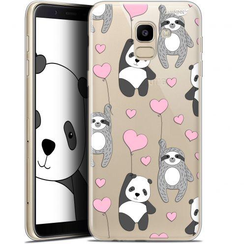 "Coque Gel Samsung Galaxy J6 2018 J600 (5.6"") Extra Fine Motif -  Panda'mour"