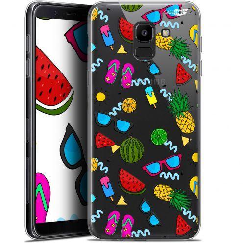 "Coque Gel Samsung Galaxy J6 2018 J600 (5.6"") Extra Fine Motif - Summers"