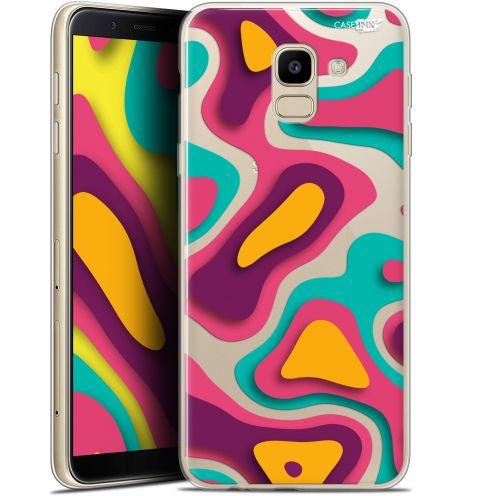 "Coque Gel Samsung Galaxy J6 2018 J600 (5.6"") Extra Fine Motif - Popings"