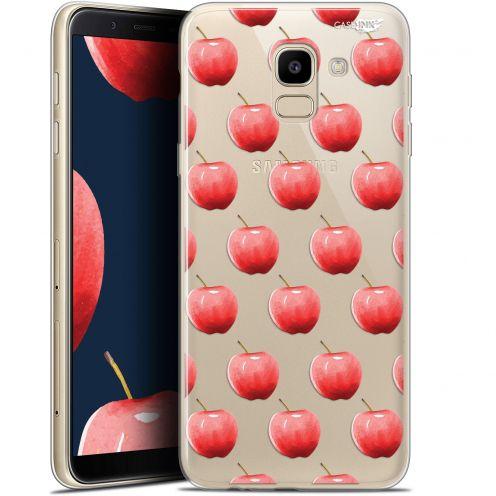 "Coque Gel Samsung Galaxy J6 2018 J600 (5.6"") Extra Fine Motif - Cerises"