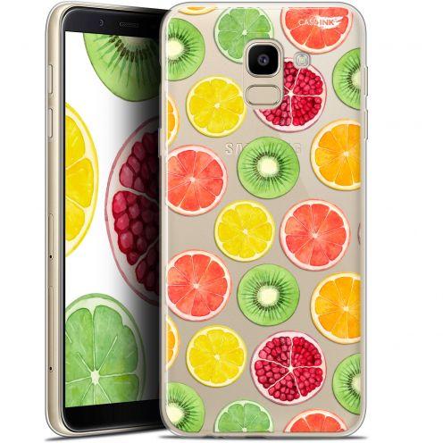 """Coque Gel Samsung Galaxy J6 2018 J600 (5.6"""") Extra Fine Motif - Fruity Fresh"""