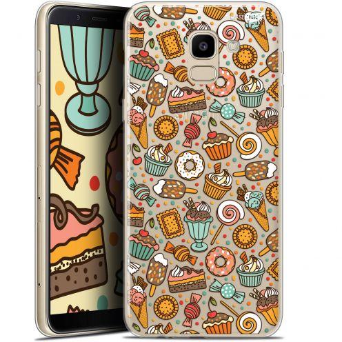 "Coque Gel Samsung Galaxy J6 2018 J600 (5.6"") Extra Fine Motif -  Bonbons"