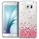 Coque Crystal Galaxy S6 Extra Fine Sweetie - Heart Flakes