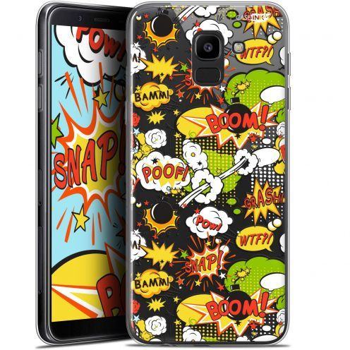 "Coque Gel Samsung Galaxy J6 2018 J600 (5.6"") Extra Fine Motif - Bim Bam Boom"