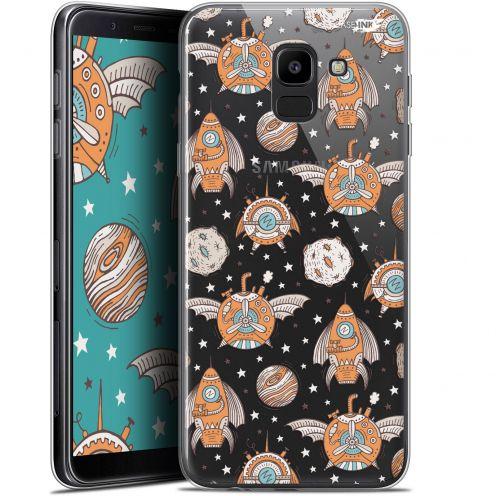 "Coque Gel Samsung Galaxy J6 2018 J600 (5.6"") Extra Fine Motif -  Punk Space"
