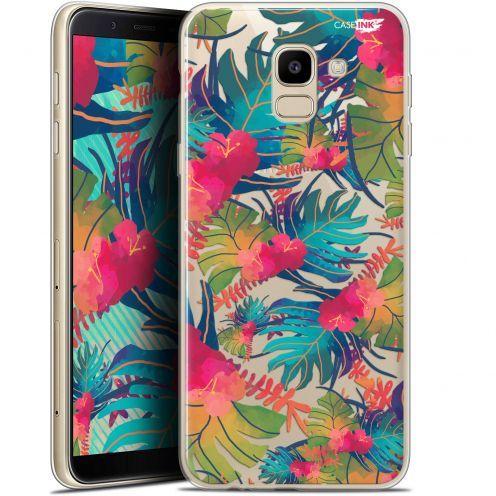 "Coque Gel Samsung Galaxy J6 2018 J600 (5.6"") Extra Fine Motif -  Couleurs des Tropiques"