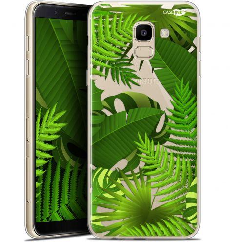 "Coque Gel Samsung Galaxy J6 2018 J600 (5.6"") Extra Fine Motif -  Plantes des Tropiques"