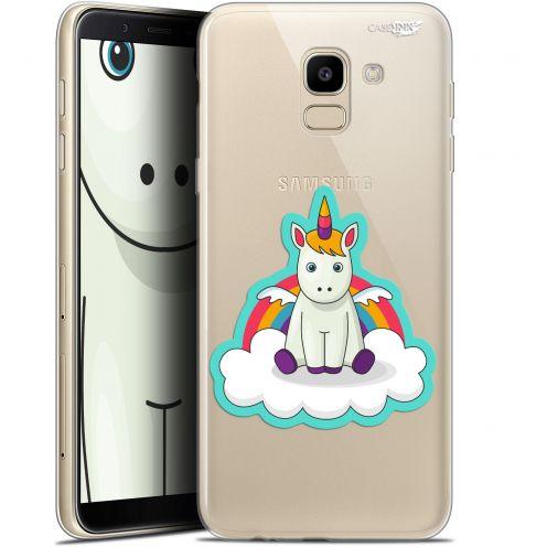 "Coque Gel Samsung Galaxy J6 2018 J600 (5.6"") Extra Fine Motif -  Bébé Licorne"