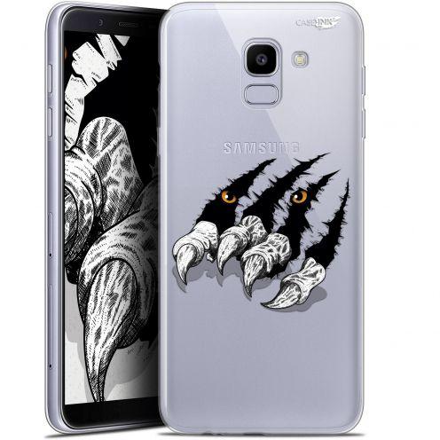 "Coque Gel Samsung Galaxy J6 2018 J600 (5.6"") Extra Fine Motif -  Les Griffes"