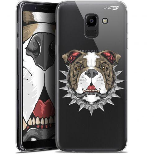 """Coque Gel Samsung Galaxy J6 2018 J600 (5.6"""") Extra Fine Motif -  Doggy"""