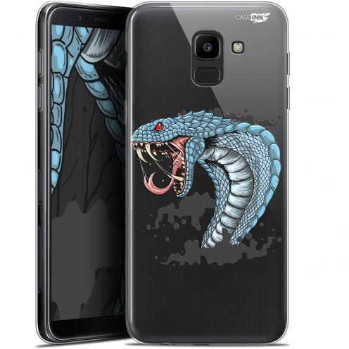 "Coque Gel Samsung Galaxy J6 2018 J600 (5.6"") Extra Fine Motif -  Cobra Draw"