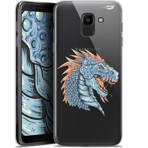 """Coque Gel Samsung Galaxy J6 2018 J600 (5.6"""") Extra Fine Motif -  Dragon Draw"""